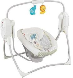 Fisher-Price SpaceSaver Cradle and Swing, White Baby Cradle Swing, Baby Swings, Fisher Price, Baby Stuffed Animals, Baby Swimming, Baby Boy Photos, Baby Online, Baby Grows, Baby Gear