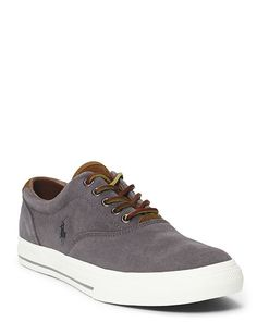 Vaughn Suede Sneaker Color Charcoal Grey Size 9D