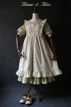 【定金】 Akane&Alois 「红发安」 开襟罩裙 全款320元-淘宝网