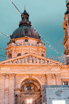 If youre looking for fun things to do in Budapest during the winter then Christmas market are a great choice to embrace the holiday spirit - Hungary Travel Destinations Backpacking Europe, Travel Europe Cheap, Usa Places To Visit, Places To Travel, Travel Destinations, Budapest Winter, Budapest Things To Do In, Budapest Travel, Hungary Travel
