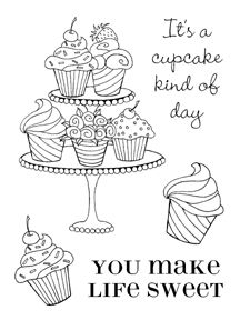 It's a cupcake kind of day . . . :)