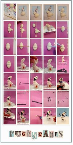 Fondant Olaf Tutorial by Pucky Cakes http://sulia.com/my_thoughts/2cfb52e1-6629-4649-a957-41b1402f100a/?source=pin&action=share&btn=small&form_factor=desktop&pinner=117154591