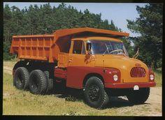 Tatra T138 S1 Dump Trucks, Tow Truck, Cool Trucks, Big Trucks, Motor Car, Cars And Motorcycles, Offroad, Techno, Tractors
