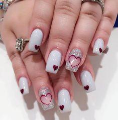 Top 30 Smart Valentine Nail Designs 2018