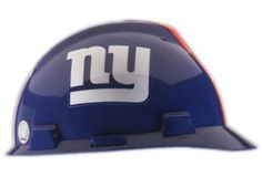 MSA Safety Works 818434 NFL Hard Hat, New York Giants by MSA Safety Works. $21.47. From the Manufacturer                Ansi spec Hard Hat with your favorite NFL team logo. Look great on the job or wear to the game. These Hard hats are the same MSA hard hats that are sold to construction sites ,Industrial complexes and manufacturing facilities all over the world. MSA is the industry leader in hard hat sales. The NFL logo is up to date with your favorite team and all teams are ava...