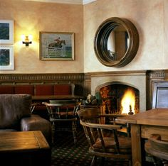 The Foxhunter Bar - The Angel Hotel, Wales