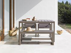 Saler outdoor bench - GANDIABLASCO