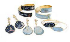 Coleção da Francesca Romana Diana: brinco (R$ 198 cada par), bracelete (R$ 310 cada) e pulseira (R$ 210 cada)