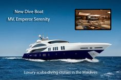 MV Emperor Serenity.A brand-new luxury #diveliveaboard offering luxury scuba cruises in the Maldives.