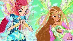 Flora and Bloom 🌸 winx club Las Winx, Bratz Girls, Flora Winx, Bloom Winx Club, Club Outfits, Pretty Boys, Fairy, Princess Zelda, Seasons