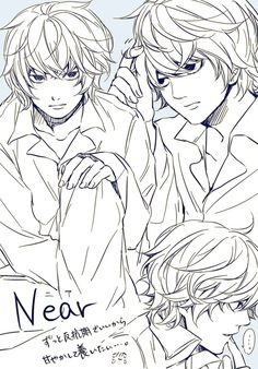 100 Best Natenear Images Death Note Near Anime Guys Death Note