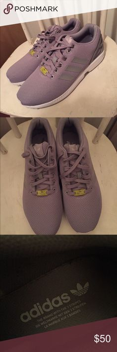 Adidas ZX Flux Pre owned, worn ONCE! Adidas Shoes Sneakers