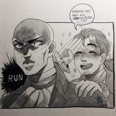 "Polubienia: 3,910, komentarze: 54 – Ziksua (@ziksua) na Instagramie: ""#inktober 11 - Run. Hahahaha i have fun drawing this☆ #ink #inktober2017 #run #hamilton…"""