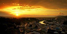 Sunset in Salzburg by Robert Karo, via 500px