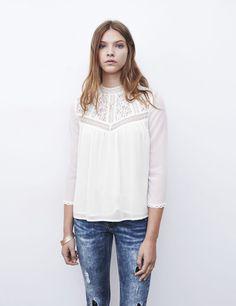 chemisier bi-matière blanc - http://www.jennyfer.com/fr-fr/collection/chemises/chemisier-bi-matiere-blanc-10009318001.html