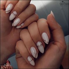 Here are 50 beautiful attractive nail designs for women who will marry 201 . - Nail Art Ideas Here are 50 beautiful attractive nail designs for women who will marry 201 . - Nail Art Ideas, nails H Classy Nails, Stylish Nails, Cute Nails, Simple Nails, Fancy Nails, Acrylic Nail Designs, Nail Art Designs, Acrylic Nails, Classy Nail Designs