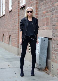 All black as usual. (by Victoria Törnegren) http://lookbook.nu/look/4297135-All-black-as-usual