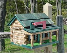 """Material:Pine Log Siding  Hardware:Zinc Plated Steel  Overall:18""""L x 14""""W x 16""""H  Weight:20 lbs.  Roof:Cedar Shingles"""