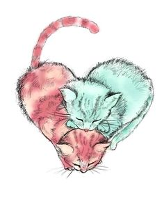 I <3 cats: