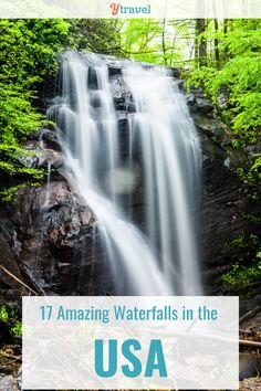 Do you LOVE waterfalls? Then you'll love our list of 17 Amazing Waterfalls in the USA! This extensive list has been written based off our personal experience, not just for the beauty of each waterfall but also the surrounding areas and adventures! Check out the list on our blog and start planning your waterfall tour! #USWaterfalls #Waterfalls #USRoadTrip #USARoadTrips #FamilyRoadTrips #FamilyVacation #FamilyTravelTips Us Road Trip, Family Road Trips, Family Travel, Travel Packing, Travel Tips, Dry Desert, Central America, Holiday Travel, Weekend Getaways