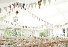 Ideas para Decorar con Banderines | Preparar tu boda es facilisimo.com