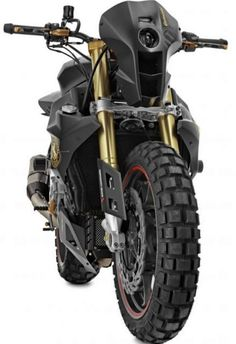 Wunderlich BMW S1000RR.  You know for surviving the zombie uprising