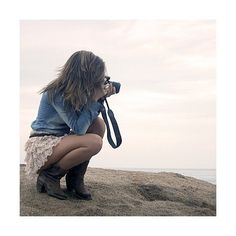 I'm sure I've looked like this a million times with my love for photography...