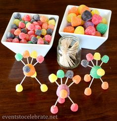 Thanksgiving Crafts for Kids - Gumdrop Turkeys - - Thanksgiving Crafts for Kids – Gumdrop Turkeys – events to CELEBRATE! Decoration Entree, Party Decoration, Craft Party, Craft Decorations, Kids Crafts, Crafts For Teens, Preschool Crafts, Thanksgiving Crafts For Kids, Spring Crafts For Kids