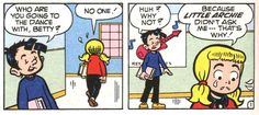 From The Pie and I, Little Archie #136 (1978).