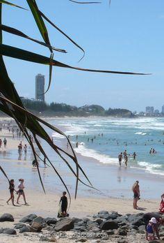 #Burleigh Beach #Gold Coast Australia