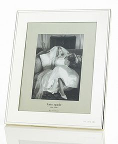 kate spade new york Darling Point Frame, 8 x 10 - Picture Frames - for the home - Macys  #macysdreamfund