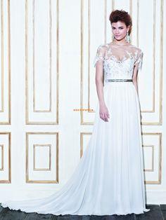Summer Sleeveless Natural Wedding Dresses 2014