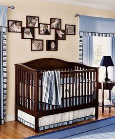 Boy baby nursery