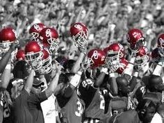 BOOMER SOONER! University of Oklahoma pride!