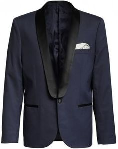 Lanvin for H and M Navy Blue Tuxedo