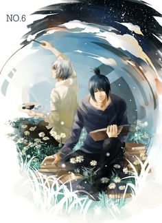 No. 6 ~~ Dreamers paint the world the way they want it, not the way that it is. :: Nezumi & Shion