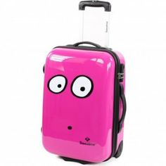 pink suitcase!