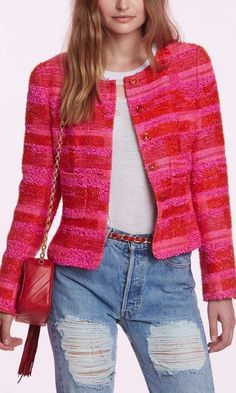 Vintage Chanel Leonela Checkered Blazer