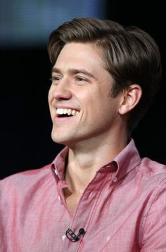 Aaron Tveit. Oh, did I accidentally throw my underwear across the room? Silly me.