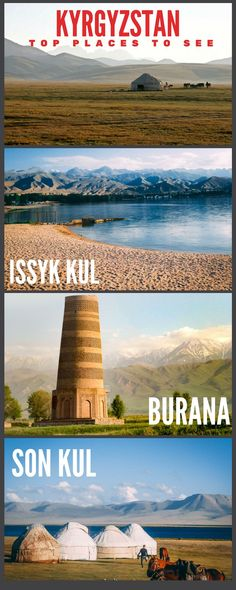 Travel and Trip infographic Kyrgyzstan – Top 10 Places to See Infographic Description Kyrgyzstan Infographics – Infographic Source – Places To Travel, Places To See, Travel Destinations, Backpacking Asia, Travel Goals, Travel Vlog, Travel Tips, Central Asia, Ultimate Travel
