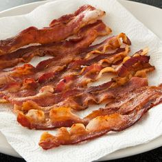Can't figure out how to evenly cook bacon in the skillet?  Cooking it in the oven allows for consistent browning and more margin of error when it comes to cooking time.