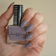 Lottie London Stay Cool Nail Varnish Review Lottie London, London Nails, Gray Nails, Nail Manicure, Manicures, Nail Polish, Nail Art Diy, Fun Nails, Nice Nails