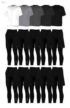 MM FAV CC 4 • rona-sims: [RONA] Summer Activewear For Men ...