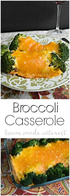 Broccoli casserole is an easy casserole recipe that is the perfect side dish for a weeknight dinner or a holiday meal. I love to have it on Easter, Thanksgiving or Christmas (sometimes both!). With broccoli, mushrooms, sour cream, and cheddar cheese, it is creamy and delicious side dish recipe that even the kids will love. #casserole #casserolerecipes #thanksgivingsidedishrecipes #thanksgivingsides