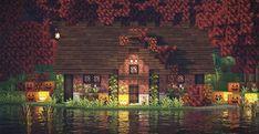 Minecraft Cottage, Cute Minecraft Houses, Minecraft Funny, Minecraft Plans, Minecraft House Designs, Amazing Minecraft, Minecraft Tutorial, Minecraft Blueprints, Minecraft Creations