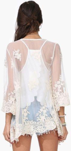 Lace Kimono ♥ L.O.V.E.