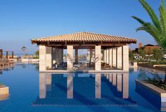 Tour The Romanos, a Luxury Collection Resort, Costa Navarino with our photo gallery. Our Costa Navarino hotel photos will show you accommodations, public spaces & more. Pool Bar, Weekend Breaks, Honeymoon Destinations, Virtual Tour, Resort Spa, Pools, Costa, Gazebo, Outdoor Structures