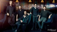 Film Fighters, All in One Frame: J.J. Abrams, Judd Apatow, Bennett Miller, Christopher Nolan and Edgar Wright - The Hollywood Reporter