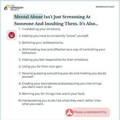 Mental Help, Mental And Emotional Health, Emotional Abuse, Emotional Intelligence, Narcissism Relationships, Abusive Relationship, Health Memes, Abuse Quotes, Health Psychology