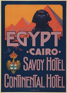 Mario Borgoni Egypt Poster
